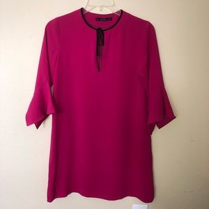 ZARA basic Pink dress